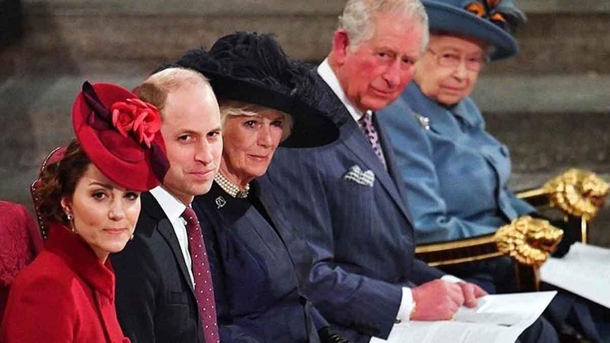 William et Kate Middleton ambiance animée avec le prince Charles il renonce au trône