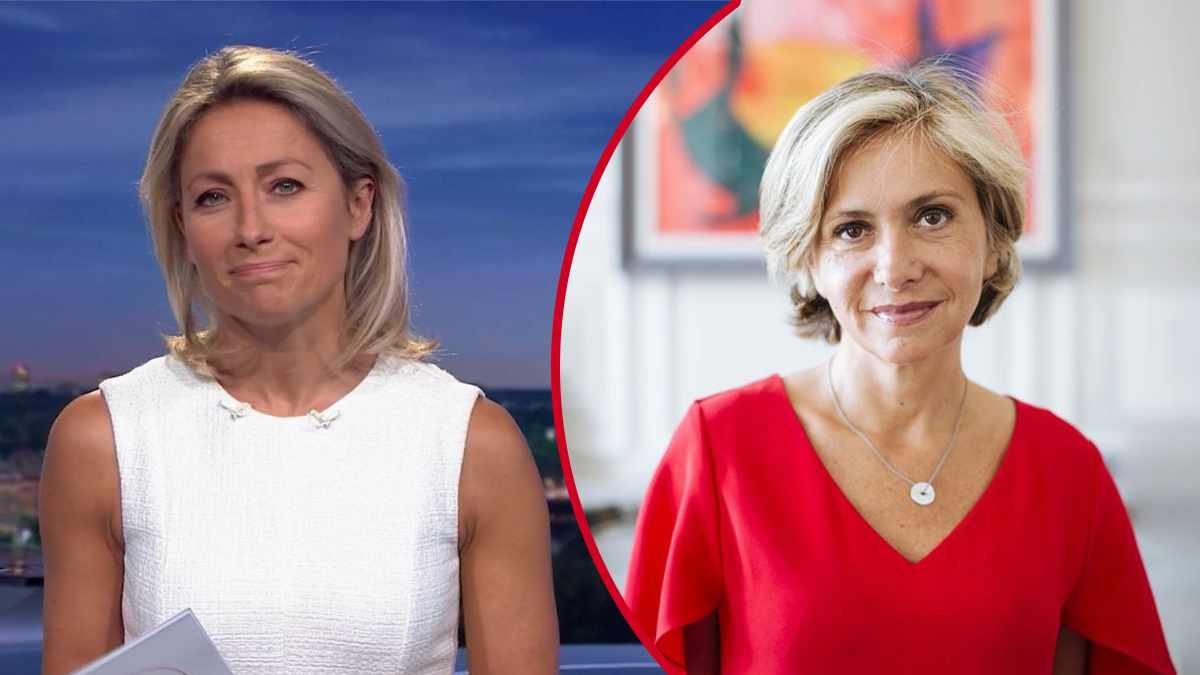 Anne-Sophie Lapix venge Valérie Pécresse énorme malaise sur France 2