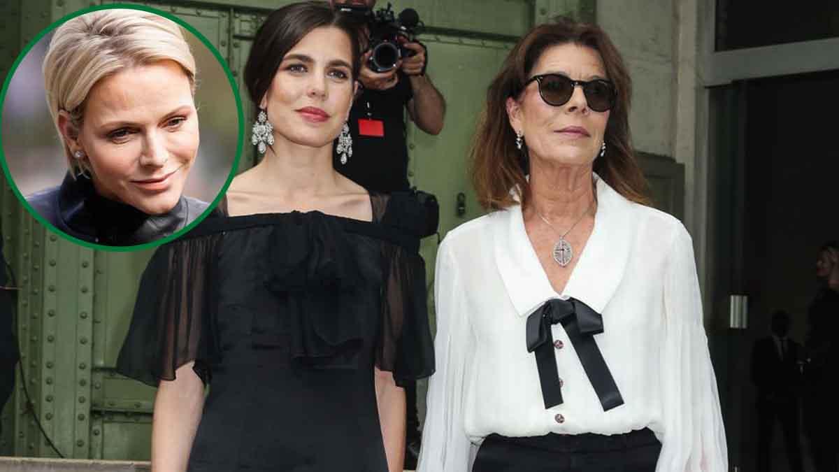 Caroline de Monaco : Charlène débarque enfin les vacances avec Charlotte Casiraghi cap sur Zurs !