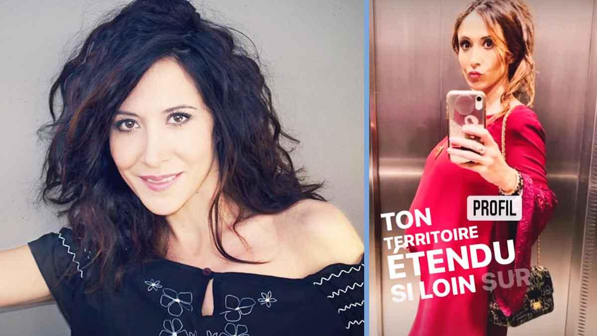 Fabienne Carat enceinte et future mère célibataire le papa du bébé nassume pas