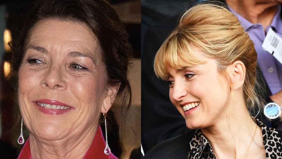Julie Gayet son étonnant clin dœil à la princesse Caroline de Monaco