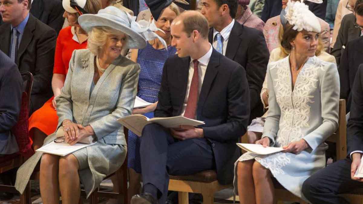 Kate Middleton et William cette confidence maladroite de Camilla Parker-Bowles sur les Cambridge