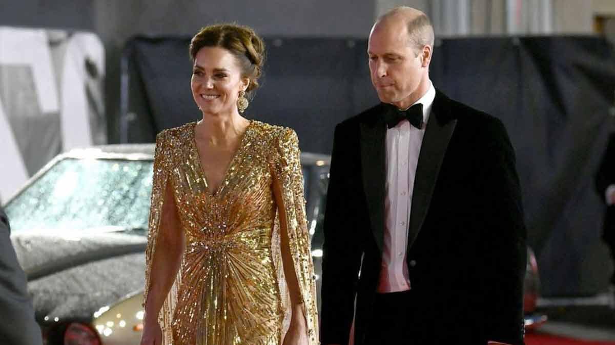 Kate Middleton et William ont enfreint le protocole royal cette maladresse à lavant-première de James Bond