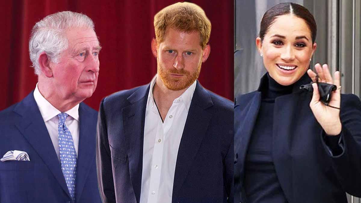 Meghan Markle et Harry ce geste impardonnable du prince Charles riposte des Sussex