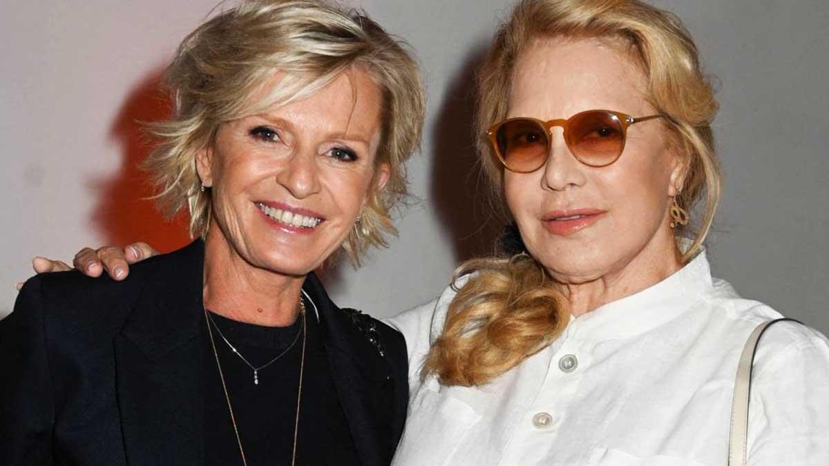 Sylvie Vartan et Sophie Davant cet improbable lien entre les 2 femmes
